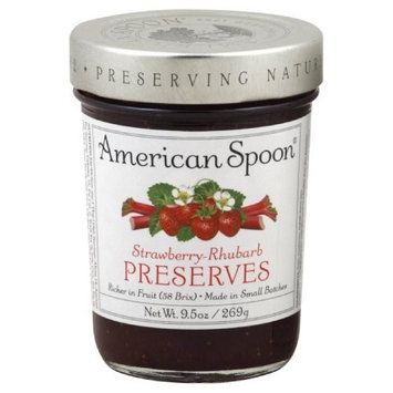 American Spoon Preserves, Strawberry Rhubarb, 9.5-Ounce (Pack of 3)