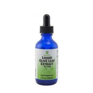 Liquid Olive Leaf Extract For Kids Seagate Vitamins 2 fl oz Liquid