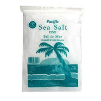 Pacific Salt Fine Sea Salt, 35.2 Ounces Bags (Pack of 4)