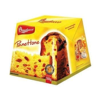 Panettone Specialty Cake Bauducco - 17.50 oz - Panettone Tradicional Bauducco - 500g