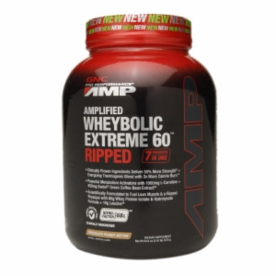 Gnc GNC Pro Performance(r) AMP Amplifed Wheybolic Extreme 60(tm) RIPPED - Chocolate Peanut Butter