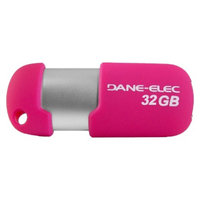 Dane-Elec 32GB USB Flash Drive - Pink (DA-Z32GCNHP5D-C)