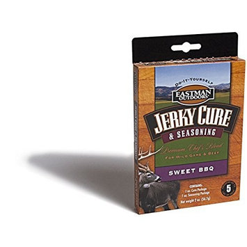 Eastman Outdoors 38449 Jerky Seasoning - Sweet BBQ (Seasoning and Cure Makes 5 Pounds)