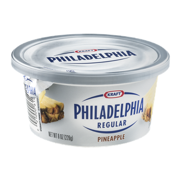 Kraft Regular Philadelphia Cream Cheese Pineapple Flavor