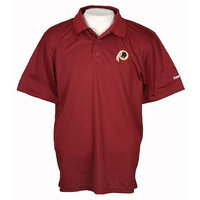 Reebok Washington Redskins NFL Playdry Coaches Polo Shirt, Maroon (Small)