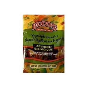 Eddie's Organic Spaghetti Eddie's Vegetable Bowties (1x10lb)