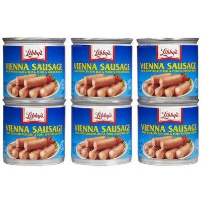 Libbys Vienna Sausage(Libby) 5 oz. (6-Pack)
