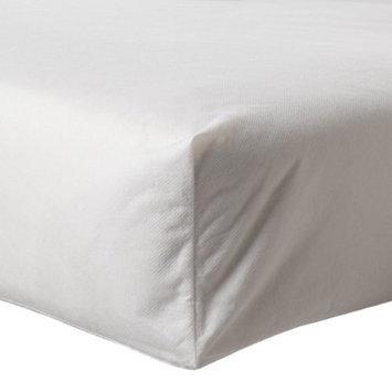 Zippered Crib Mattress Protector - White by Circo