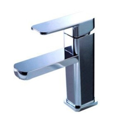 MAX Brass Bathroom Sink Faucet - Chrome Finish