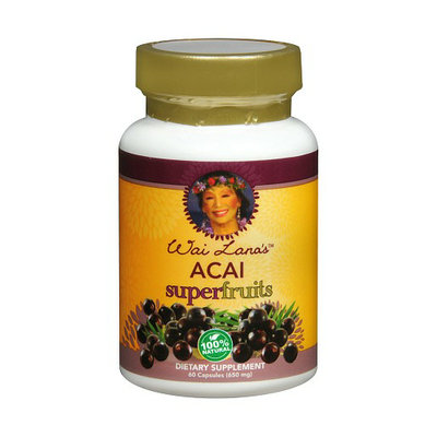 Wai Lana Acai Super Fruits 650 mg Dietary Supplement Capsules