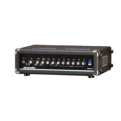 Acoustic B800H 800W Bass Amp Head Black