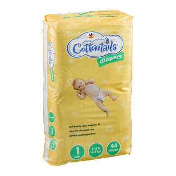 Cottontails Diapers Size 1