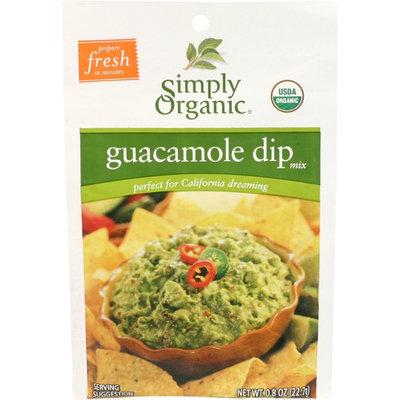 Simply Organic Certified Organic Guacamole Dip Mix