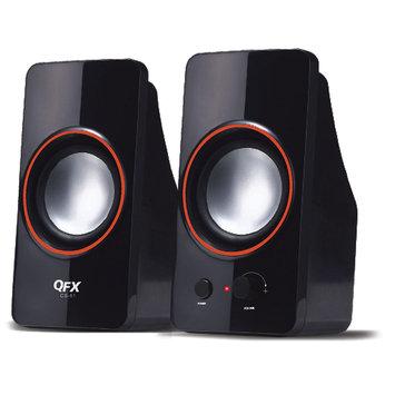 Quantumfx QFX QUANTUM CS61 BLACK 2.0 USB SPEAKER 25WATT