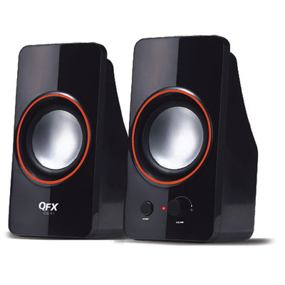 Quantumfx QFX QUANTUM CS61 BLACK 2.0 USB SPEAKER 25WATT