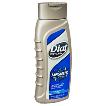 Dial For Men Magnetic Moisture-Rich Attraction Enhancing Body Wash