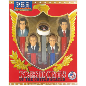 Pez Candy, Inc. US Presidents PEZ Candy Set Volume 8: Nixon, Ford, Carter, Reagan, And Seal