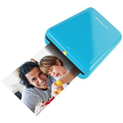 Polaroid ZIP Mobile Printer w/ZINK Zero Ink Printing Technology - Compatible w/iOS & Android Devices - Blue [Blue]