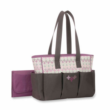 Baby Boom Graco Nyssa 6 Pocket Tote Diaper Bag