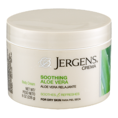 JERGENS® Crema Soothing Aloe Vera Body Cream