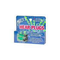 Macks Mack's Hear Plugs, Small, 1 Pair
