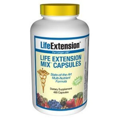 Life Extension Mix Caps without Copper, 490 capsules