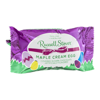 Russell Stover Maple Cream Egg in Dark Chocolate
