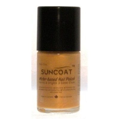 Suncoat Products Water-Based Nail Polish Gold 15 Milliliters (#19)