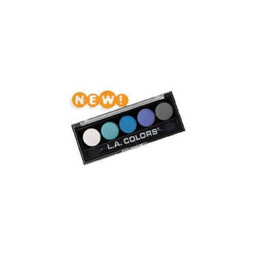 L.A. Colors 5 Color Metallic Eyeshadow