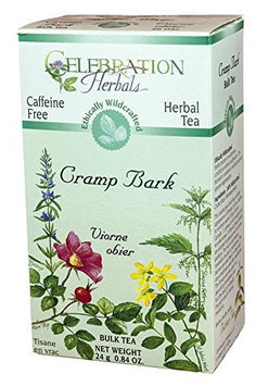 Celebration Herbals Cramp Bark Bulk Tea Caffeine Free - 0.84 oz