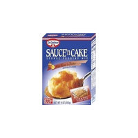 Dr. Oetker Sauce'n Cake Hot Rum Mix, 9 oz. Pack of 6