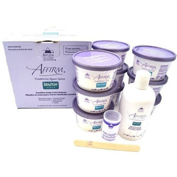 Avlon Industries Inc. Avlon Affirm Dry and Itchy Scalp Sensitive Scalp Formula Relaxer 9 Pack
