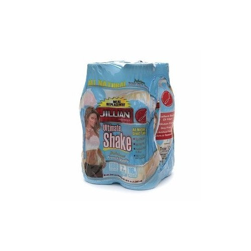 Jillian Michaels Meal Replacement Ultimate Shake, French Vanilla, 4/11.5 oz (4 Pack)