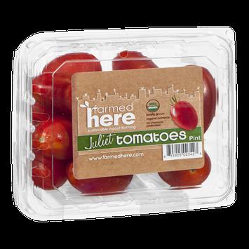 FarmedHere Juliet Tomatoes