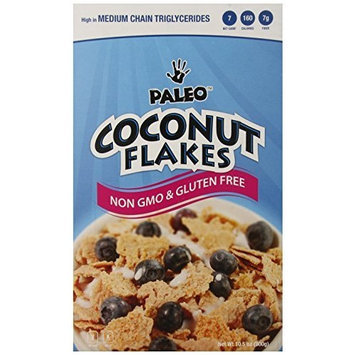 Julian Bakery Paleo Coconut Flakes (Low Carb & Gluten Free), 10 Servings, Cereal