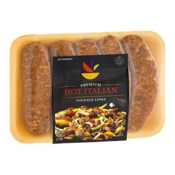 Ahold Premium Hot Italian Sausage Links