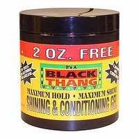 Black Thang Maximum Hold Shining & Conditiong Gel