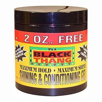 Black Thang Maximum Hold Shining & Conditiong Gel