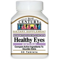 21st Century Healthy Eyes Extra Tablets, 50 Count (Pack of 2)
