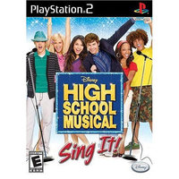 Disney High School Musical: Sing It for Sony PS2