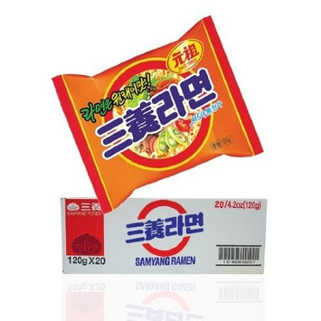 Samyang Beef Flavor Ramen Noodle, 4.23-ounce Units (Pack of 20)