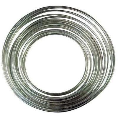 Value Brand 11193 Aluminum Tubing 1/4 In, 50 ft.
