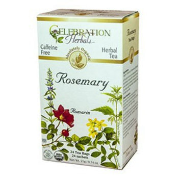 Celebration Herbals - Organic Caffeine Free Rosemary Herbal Tea - 24 Tea Bags