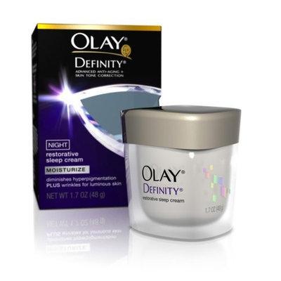 Olay Definity Night Restorative Sleep Cream, 1.7 Ounce