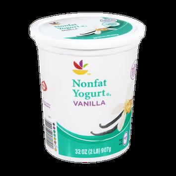 Ahold Nonfat Vanilla Yogurt