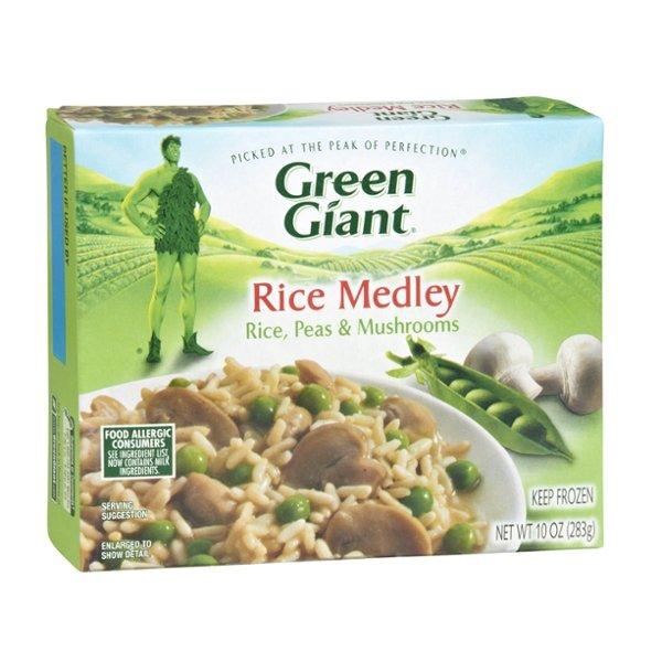 Green Giant Rice, Peas & Mushroom Rice Medley