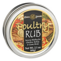 Dean Jacob's Dean Jacobs Poultry Rub, 2.1-Ounce Tins (Pack of 6)