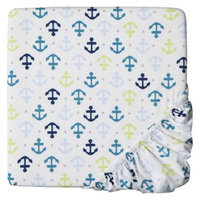 Whales n' Waves Fitted Crib Sheet by Circo