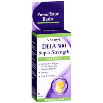 Natrol DHA 500 Super Strength Brain Support