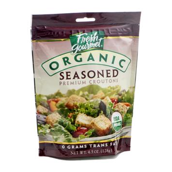 Fresh Gourmet Organic Seasoned Premium Croutons